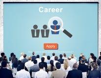 Karriere Job Profession Apply Hiring Concept lizenzfreie stockbilder