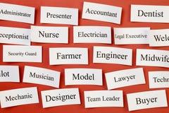 Karriere-oder Situations-freies Konzept Lizenzfreie Stockfotos