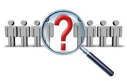 Karriere-Recherche Lizenzfreies Stockbild