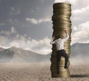 Karriere und Ehrgeiz bei der Arbeit Lizenzfreies Stockfoto