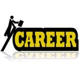 Karriereaufstieg vektor abbildung