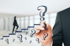 Karriereförderung und aufsteigen Konzept lizenzfreies stockfoto