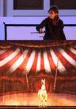 Karromato hölzerner Zirkus bei Bahrain, 29. Juni 2012 Stockfoto