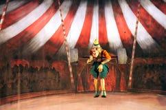 Karromato wooden circus at Bahrain, June 29, 2012 Stock Photo