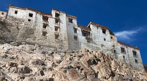 Karsha gompa - buddhist monastery in Zanskar Stock Photos