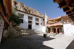 Karsha gompa - buddhist monastery in Zanskar valley Royalty Free Stock Photo