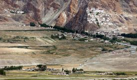 Karsha gompa - Zanskar valley - Ladakh - India Royalty Free Stock Photo