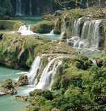 The Karst cascade Stock Image