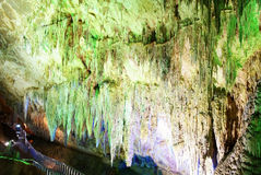 Karst cave Stock Photos