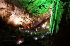 Karst cave Royalty Free Stock Photo