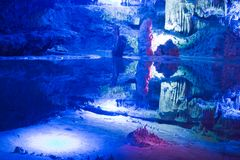 Karst cave Royalty Free Stock Photo