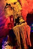Karst cave stock photo