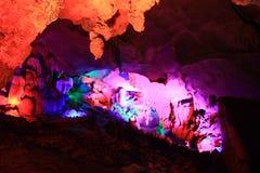 Karst cave Stock Image