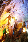 Karst cave in chongqing wulong Royalty Free Stock Photo
