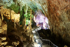 Karst cave in chongqing wulong Stock Image
