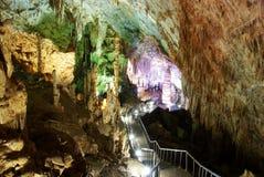 Karst cave in chongqing wulong stock image