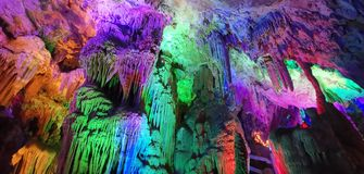 Karst cave royalty free stock image