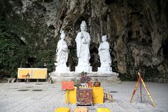 Free Karst Cave , The Dragon Palace In Guizhou , China Stock Photography - 55054012