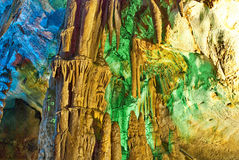Karst caves Royalty Free Stock Images