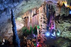 Karst caves. In Beijing suburbs Royalty Free Stock Image