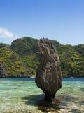 Karst coastline, El Nido, Philippines Stock Image
