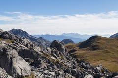 Karst formation in Kahurangi National Park Royalty Free Stock Images