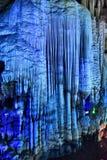 karst hol in YANGSHUO-provincie Stock Fotografie