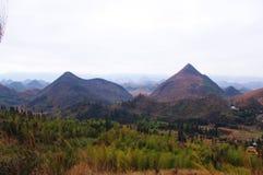 Karst landform. Of south china Royalty Free Stock Photo