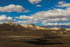 Karst landform in Tibet Royalty Free Stock Photography