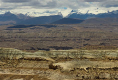 Karst landform in Tibet Royalty Free Stock Photos