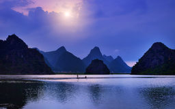 Karst Landforms in Chinas Yunnan-Provinz Stockbild