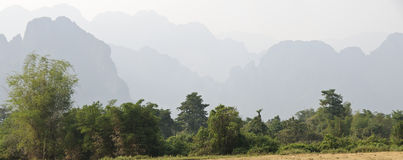 Karst landscape Stock Photography