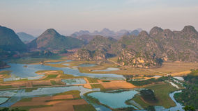 Karst Landscape Royalty Free Stock Photography