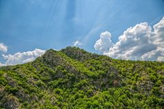 Karst landscape Royalty Free Stock Images