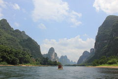 Karst mountain, Guilin Royalty Free Stock Images