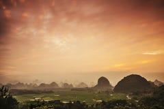 Karst Mountain Landscape Royalty Free Stock Image