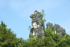 Karst mountain Stock Images