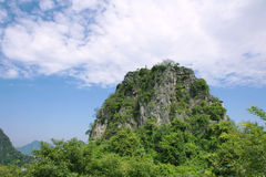 Karst mountain Royalty Free Stock Photo