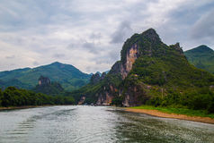 Karst Mountains in Guilin, China Stock Photos