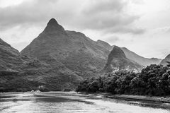 Karst Mountains in Guilin, China Royalty Free Stock Photography