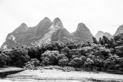 Karst Mountains in Guilin, China Stock Photography