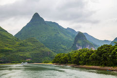 Karst Mountains in Guilin, China Royalty Free Stock Photo