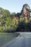 Karst mountains of Railay island, Thailand Royalty Free Stock Image