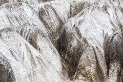Karst Plateau Eroded Limestone. Closeup of limestone formations in Hiraodai Quasi-National Park in Kitakyushu, Japan, is one of Kyushu`s top spots for hiking and Stock Images