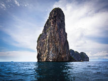Karst Scenery in Ko Phi Phi, Krabi Province, Thailand Royalty Free Stock Photo