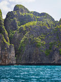 Karst Scenery in Maya Bay, Ko Phi Phi, Thailand Stock Images