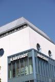 Karstadt abstrakt begrepp Arkivfoto