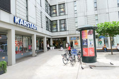 Karstadt Augsburg Royalty Free Stock Photo