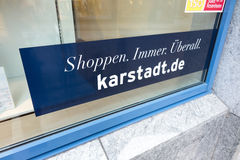 Karstadt.de Royalty Free Stock Images