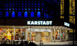 Karstadt department store Stock Photos